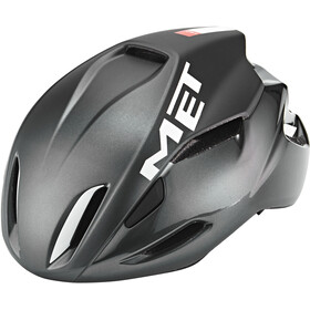 MET Manta Casco, black/white